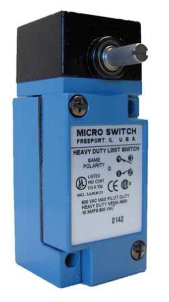 Honeywell Micro Switch 1NC/1NO SPDT Heavy Duty Limit Switch Rotary Head LSA1A