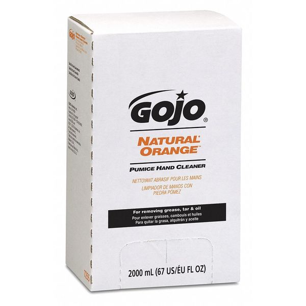 Gojo 2,000 mL Liquid Hand Cleaner Cartridge 7255-04