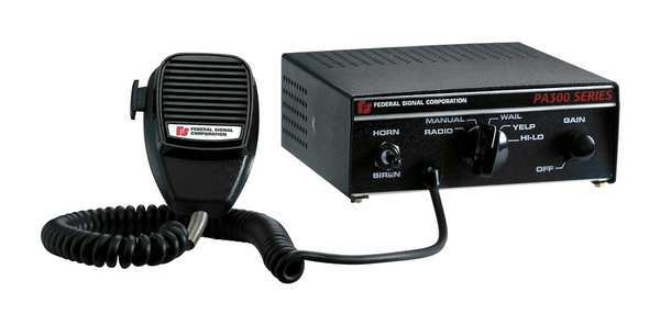 Federal Signal Electronic Siren, 11 to 15 VDC 690000