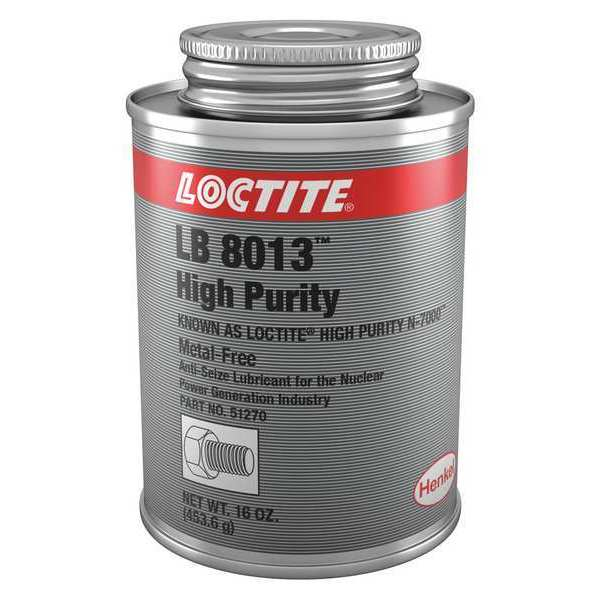 Anti-Seize, High Purity, 16 oz, Can LOCTITE LB 8013 High Purity Anti-Seize