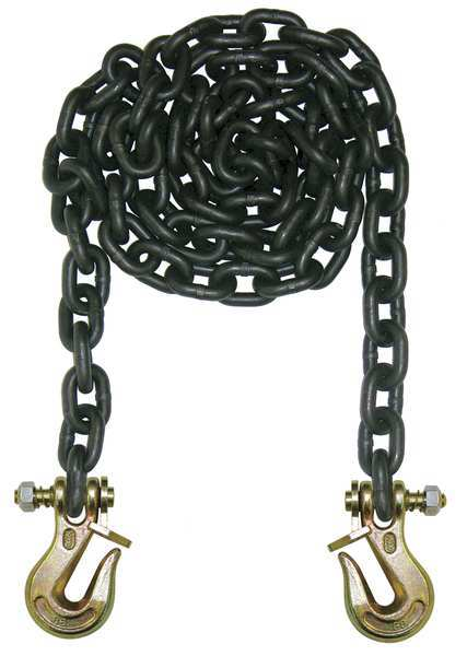 B/A Products Co. Chain, Grade 80, 3/8 Size, 20 ft., 7100 lb. G8-3820TL