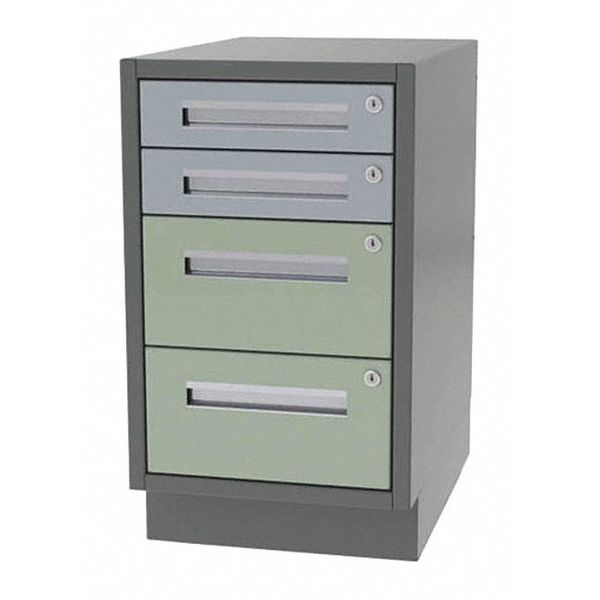 "Greene Manufacturing, Inc. Cabinet, 4 Drawer, 18"" W x 28"" D x 28"" H DT-1828-2020"