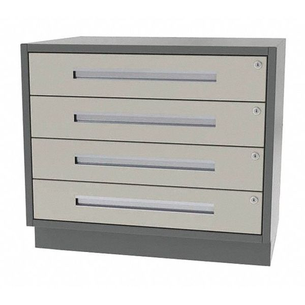"""Greene Manufacturing, Inc. Cabinet, 4 Drawer, 32"""" W x 21"""" D x 28"""" H DT-3221-0400"""