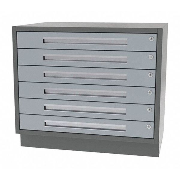 """Greene Manufacturing, Inc. Cabinet, 6 Drawer, 36"""" W x 24"""" D x 28"""" H DT-3624-6000"""