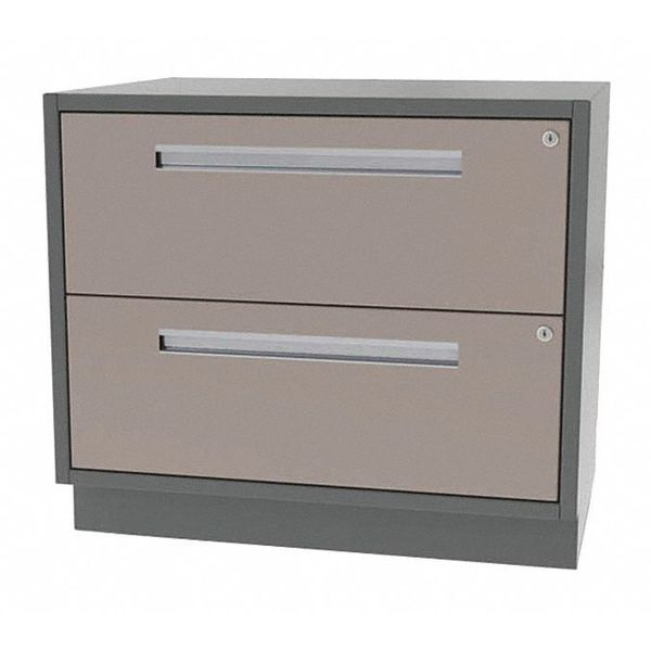 "Greene Manufacturing, Inc. Cabinet, 2 File Drawer, 36""Wx18""Dx28""H DT-3618-0002"