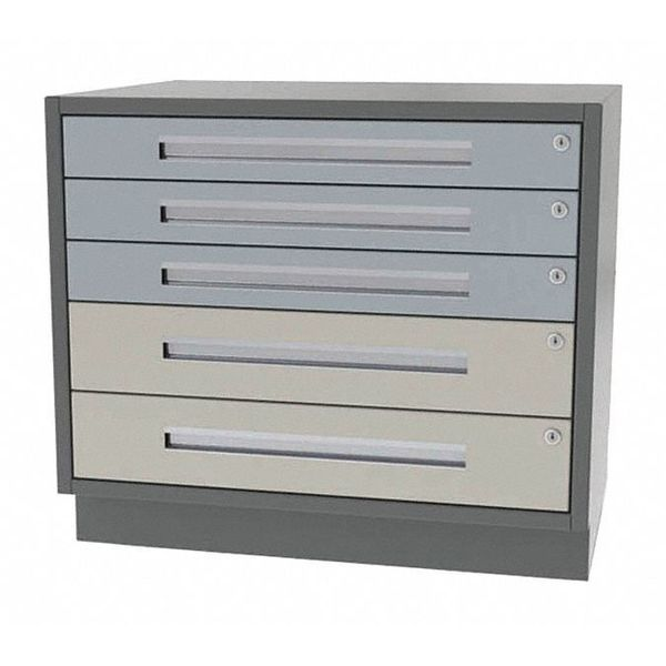 "Greene Manufacturing, Inc. Cabinet, 5 Drawer, 48""Wx21""Dx28""H DT-4821-3200"