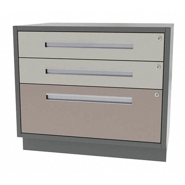 "Greene Manufacturing, Inc. Cabinet, 3 Drawer, 36""Wx24""Dx28""H DT-3624-0201"