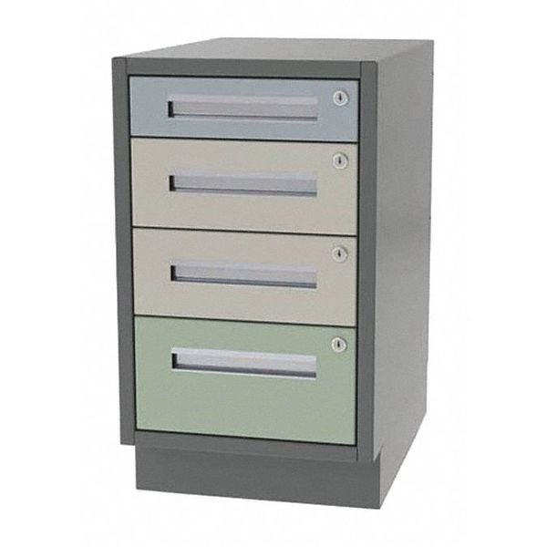 """Greene Manufacturing, Inc. Cabinet, 4 Drawer, 30"""" W x 28"""" D x 28"""" H DT-3028-1210"""