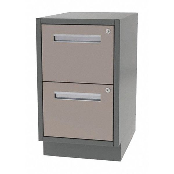 "Greene Manufacturing, Inc. Cabinet, 2 File Drawer, 18""Wx28""Dx28""H DT-1828-0002"