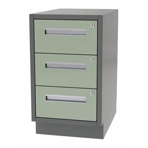 """Greene Manufacturing, Inc. Cabinet, 3 Drawer, 30""""Wx21""""Dx28""""H DT-3021-0030"""