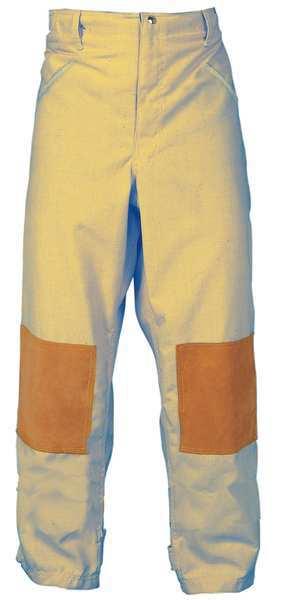 Fire-Dex Turnout Pants, Tan, 2XL, Inseam 31 In. FS1P00S2