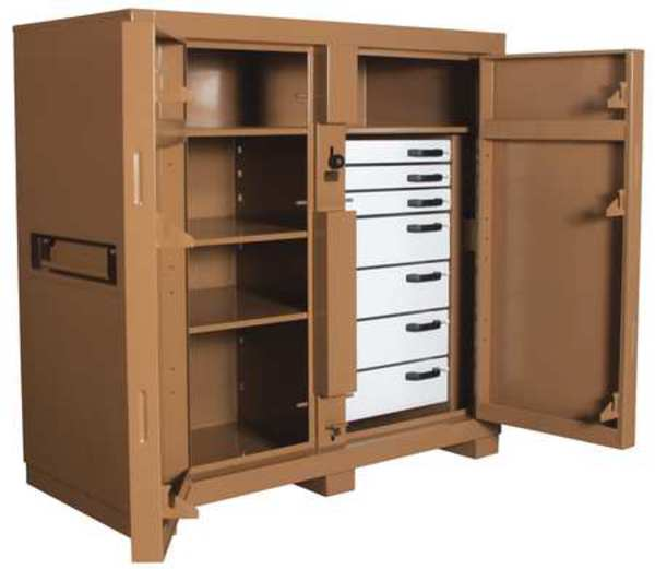Knaack 60 in x 60 in x 30 in Jobsite Storage Cabinet 112