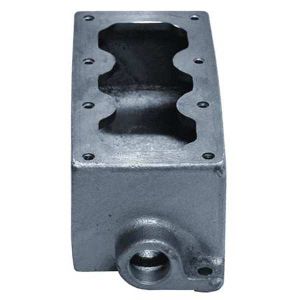 Appleton Electric Mounting Body, 3Device, 1In, DeadEnd, Alum EDS347-SA