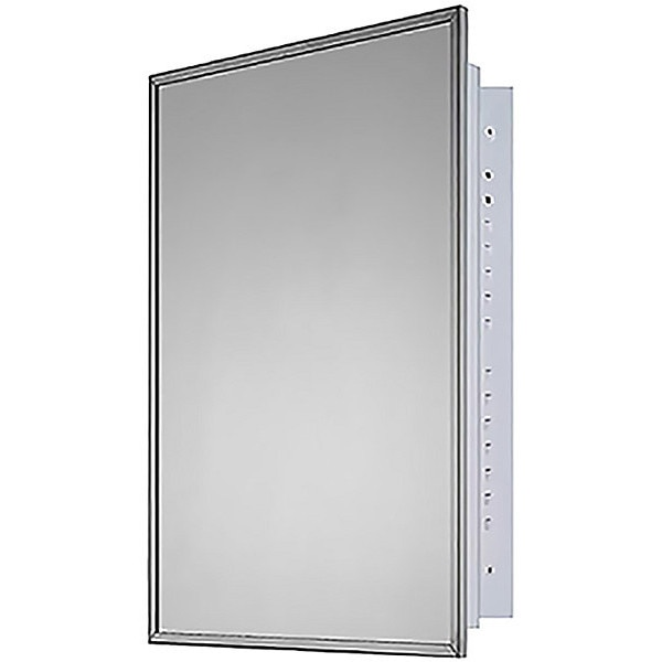 """Ketcham 24"""" x 36"""" Deluxe Recessed Mounted SS Framed Medicine Cabinet 192"""