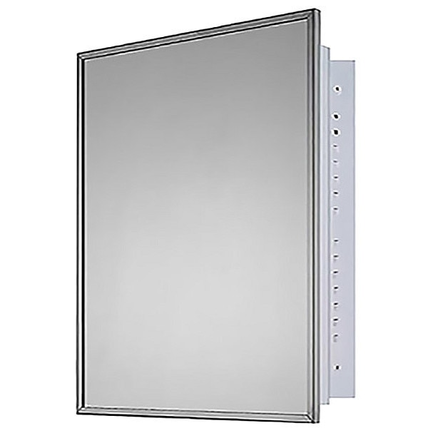 """Ketcham 24"""" x 30"""" Deluxe Recessed Mounted SS Framed Medicine Cabinet 190"""