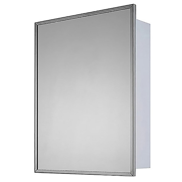 """Ketcham 24"""" x 30"""" Deluxe Surface Mounted SS Framed Medicine Cabinet 190-SM"""