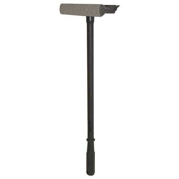 """Mallory MALLORY Black 8"""" Plastic Window Washer and Squeegee,  Length: 20 in WS2024A"""