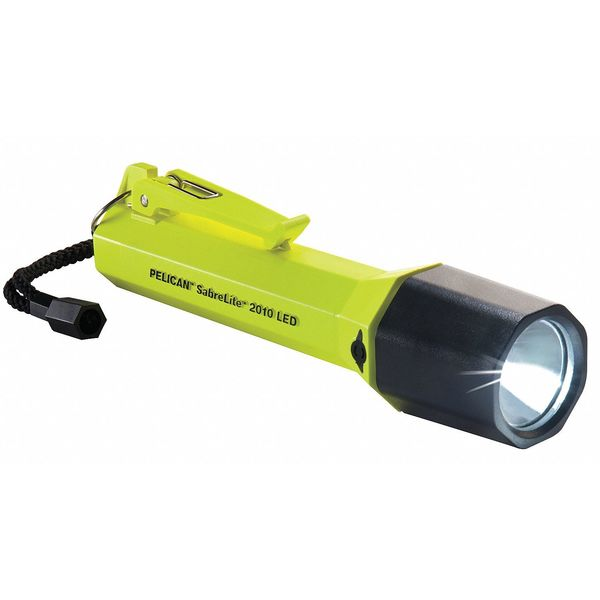Pelican High Visibility Yellow LED Handheld Flashlight,  Alkaline C,  161lm 2010-G