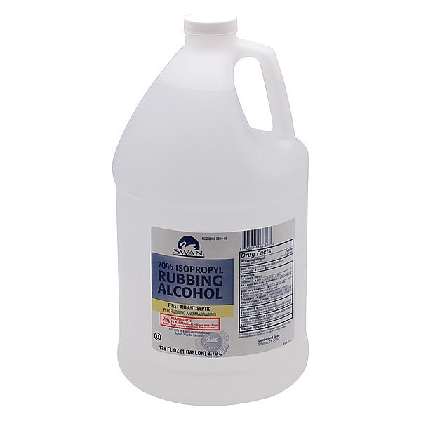 Cumberland Swan Rubbing Alcohol, Bottle, 1 gal. 26841