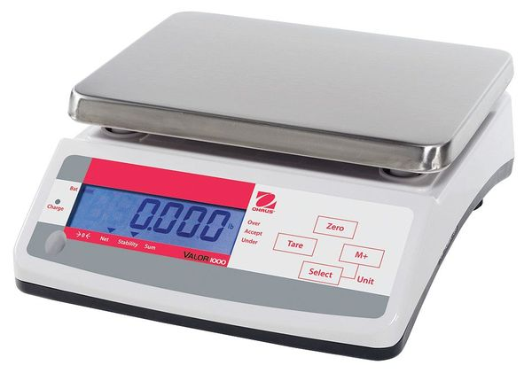 Ohaus Digital Compact Bench Scale 33 lb. Capacity V11P15T