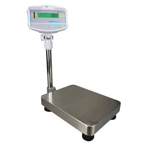Adam Equipment Digital Platform Bench Scale 35 lb./16kg Capacity GBK 35a