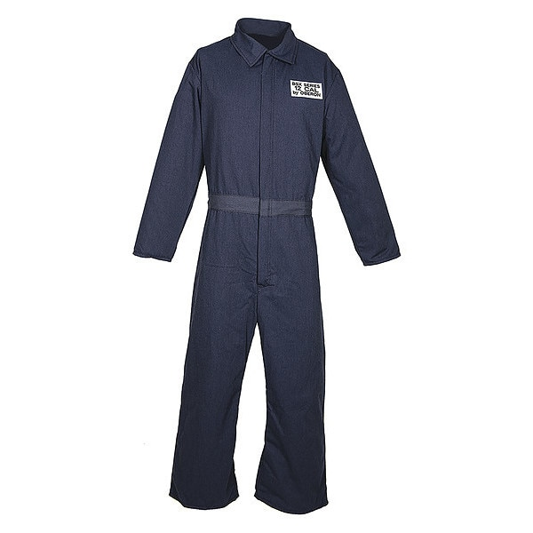 Oberon Company BSX™ Series Inherently Fire Resistant 12 Calorie Arc Flash Coveralls BSA-OB59NB-R5XL