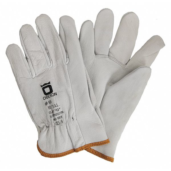 Oberon Company Rubber Electrical Glove Leather Protectors,  Size 8 LP-CB-12-8