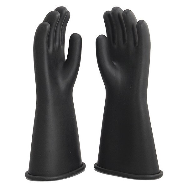 Oberon Company Rubber Electrical Gloves,  Size 8 RG-B-C1-R14-8