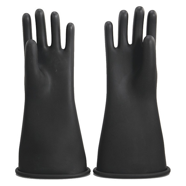 Oberon Company Rubber Electrical Gloves,  Size 9 RG-B-C2-R14-9