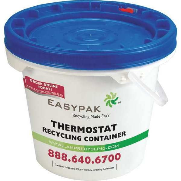 Easy Pak Thermostat Recycling Container 330-145
