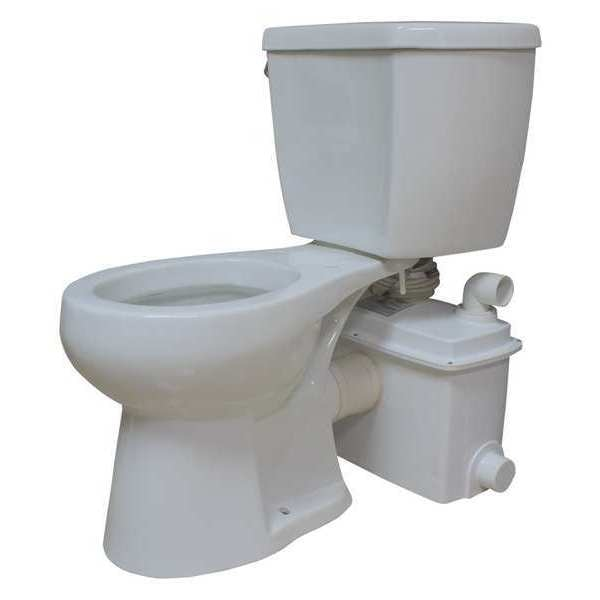 Star Water Systems Floor Mount,  Round,  Toilet Install System, Round Bowl S1201