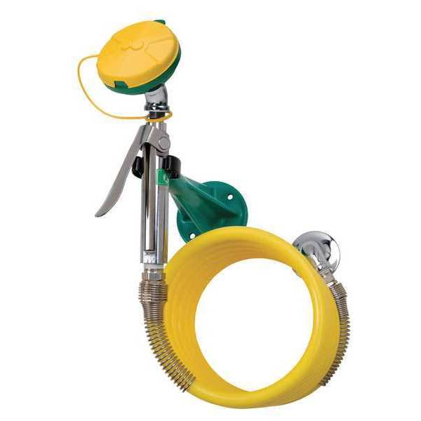 Haws Drench Hose Eye/Face Wash, Wall Mount 8905