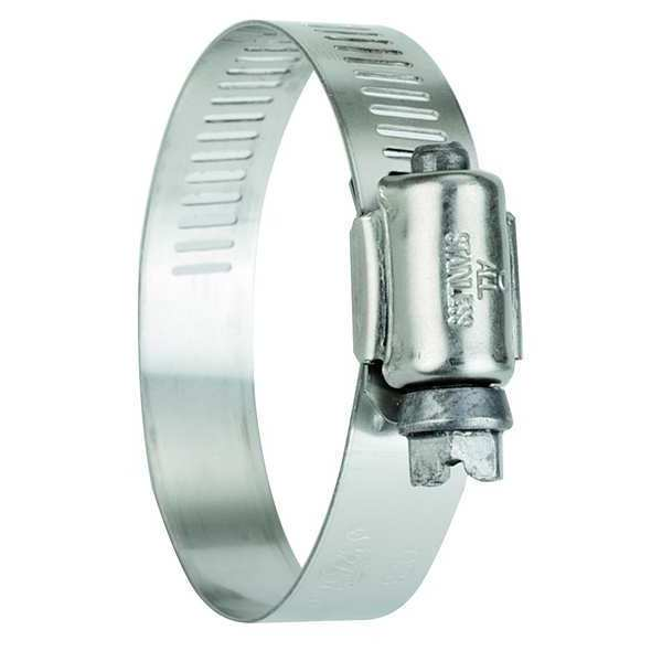 Zoro Select Hose Clamp, 2 to 3 In, SAE 40, SS, PK10 5240070