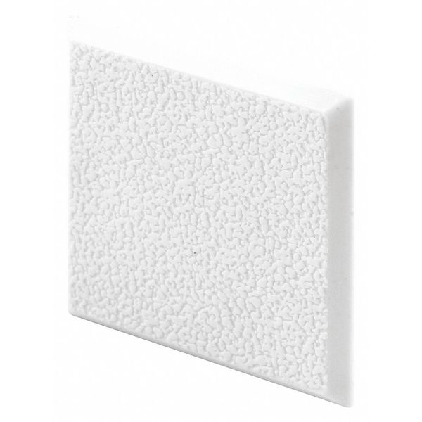 "Primeline Wall Door Guards, White, 2"", Sq, S/A, PK5 MP10866"