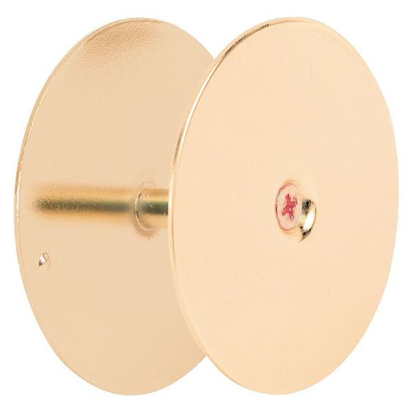 "Primeline Bore Hole Cover, 2-5/8"", Brass Plated MP9516"