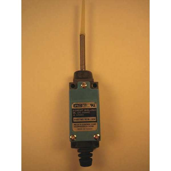 """Relay And Control Corp. Mini Limit Switch, 3.25"""", Plastic Top RCM-404"""