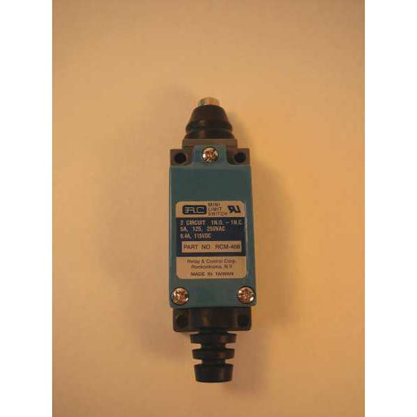 Relay And Control Corp. Mini Limit Switch, Rod Plunger RCM-408