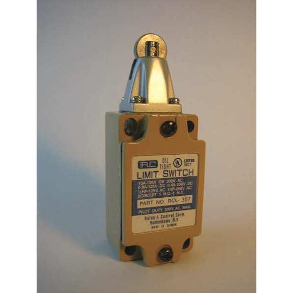 Relay And Control Corp. Precision Oil Tight Limit Switch, Roller RCL-307
