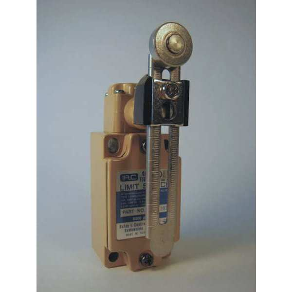 Relay And Control Corp. Limit Switch,  Adjustable Lever,  Roller,  1NC/1NO,  10A @125V AC RCL-303