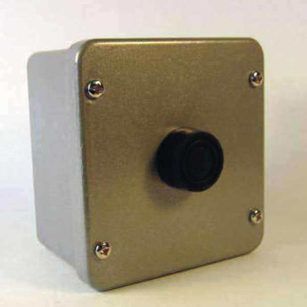 Relay And Control Corp. Control Station, 1-Button, Metal, Nema 4 1BX