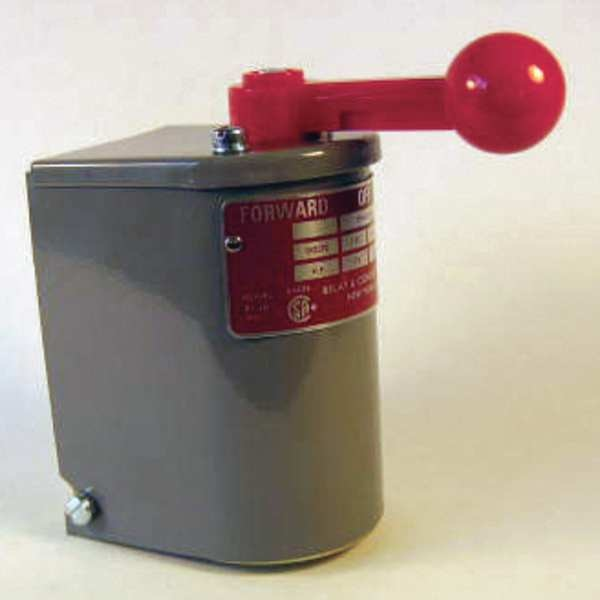 """Relay And Control Corp. Reversing Motor Drum Switch, 2.25x4.5x4"""" RS-1A-MP"""