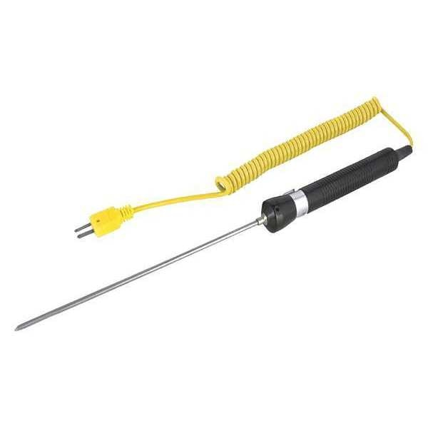 Reed Instruments Needle Tip Thermocouple Probe,  Type K,  -58 to 1112°F (-50 to 600°C) R2960