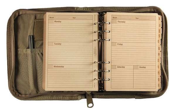 Rite In The Rain Planner Kit, Weekly/Monthly, 4-5/8 x 7 in. 9255T
