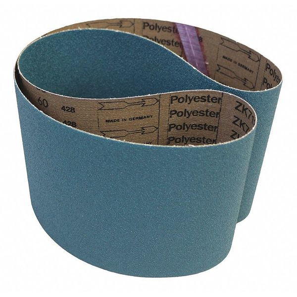 Pack of 10 Cloth Backing Blue 60 Grit 6 Width Medium Grade Zirconia 48 Length VSM 81336 Abrasive Belt