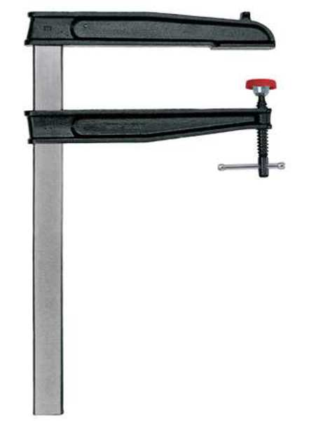 Bessey 24 in Bar Clamp Forged Steel Handle and 12 in Throat Depth CDS24-12WP