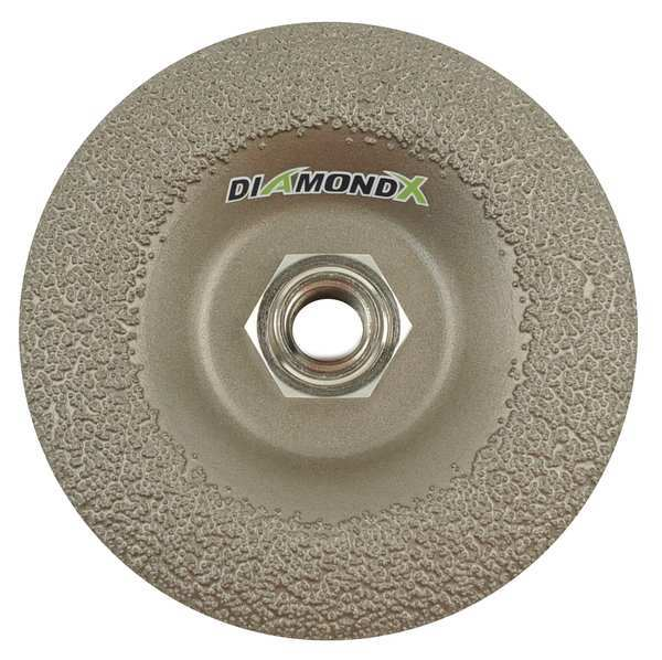 Diamond Vantage Grinding Wheel, 4-1/2In, 24, Depressed Ctr DXA2920P45H
