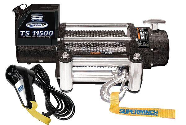 Superwinch Electric Winch, 6HP, 12VDC 1511200
