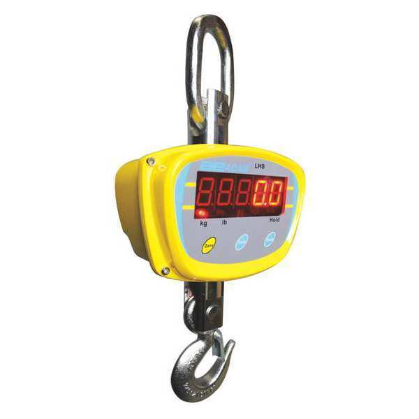 Adam Equipment Crane Scale, Digital, 4000 lb./2000kg LHS 4000A