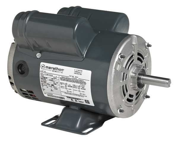 Marathon Motors General Purpose Motor, 1 HP, 115/208-230V 056B17DRR70020A1