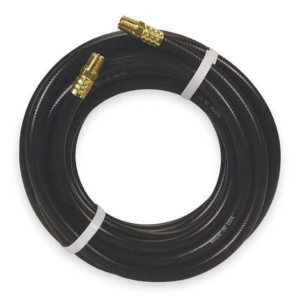 "Continental 1/4"" x 25 ft PVC Coupled Multipurpose Air Hose 300 psi BK 54047200892514"